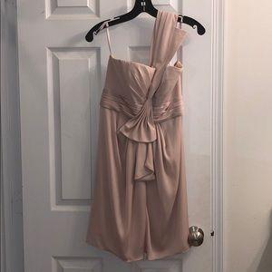 "BCBG ""Palaise"" Bare Pink Dress"